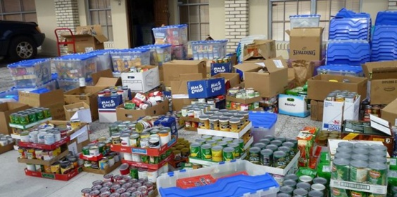 Food Collected by St Pete Catholic Students