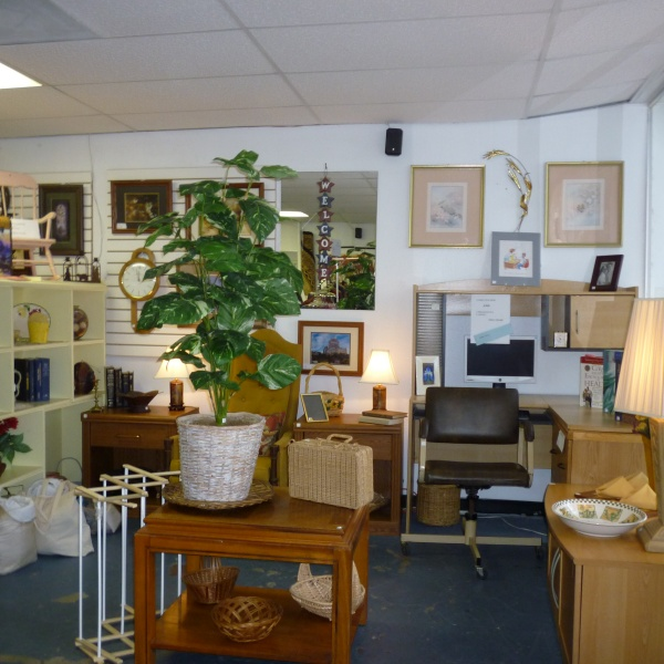 Household goods at the Daystar Thrift Shoppe